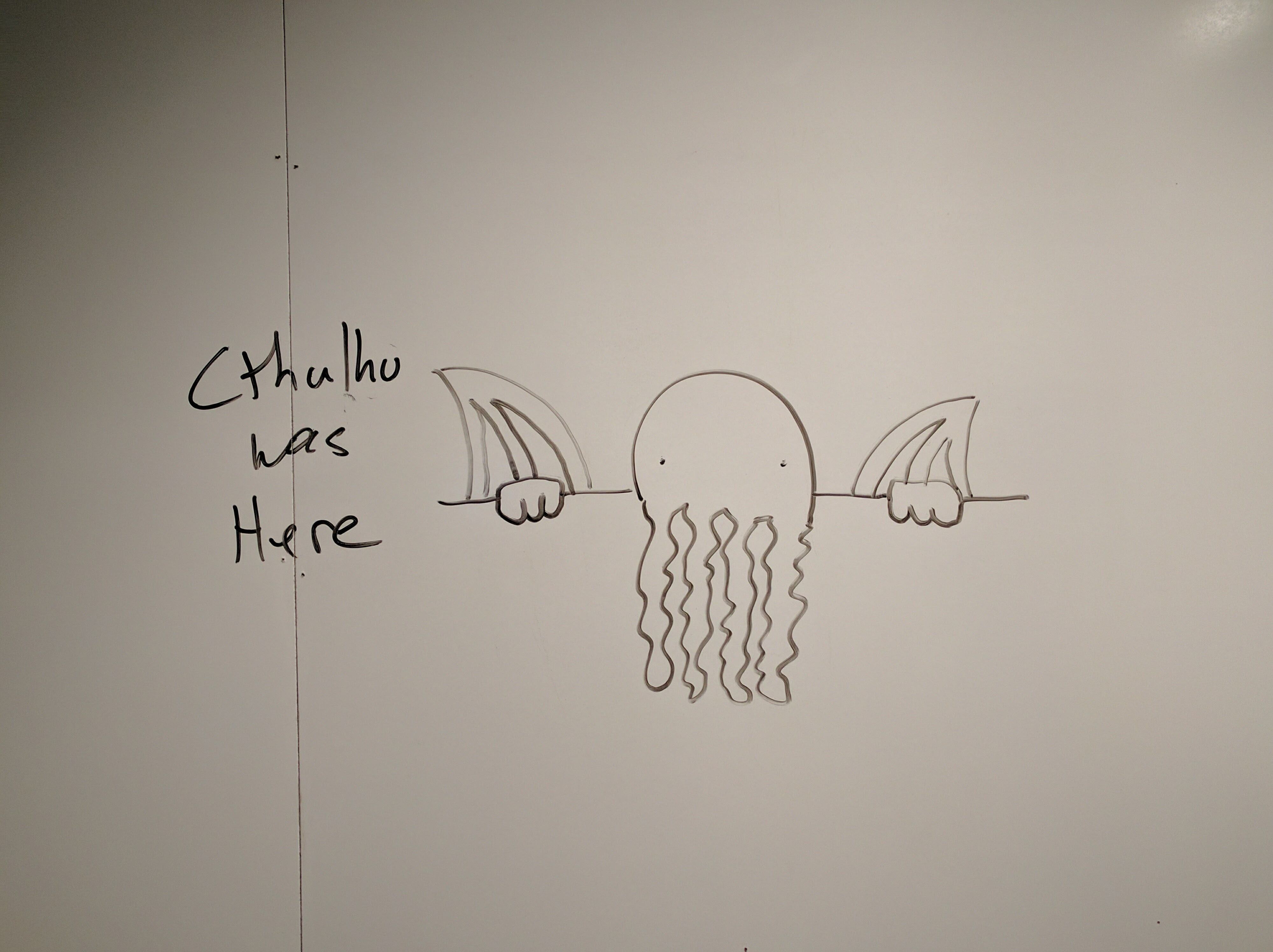 Cthulhu Was Here